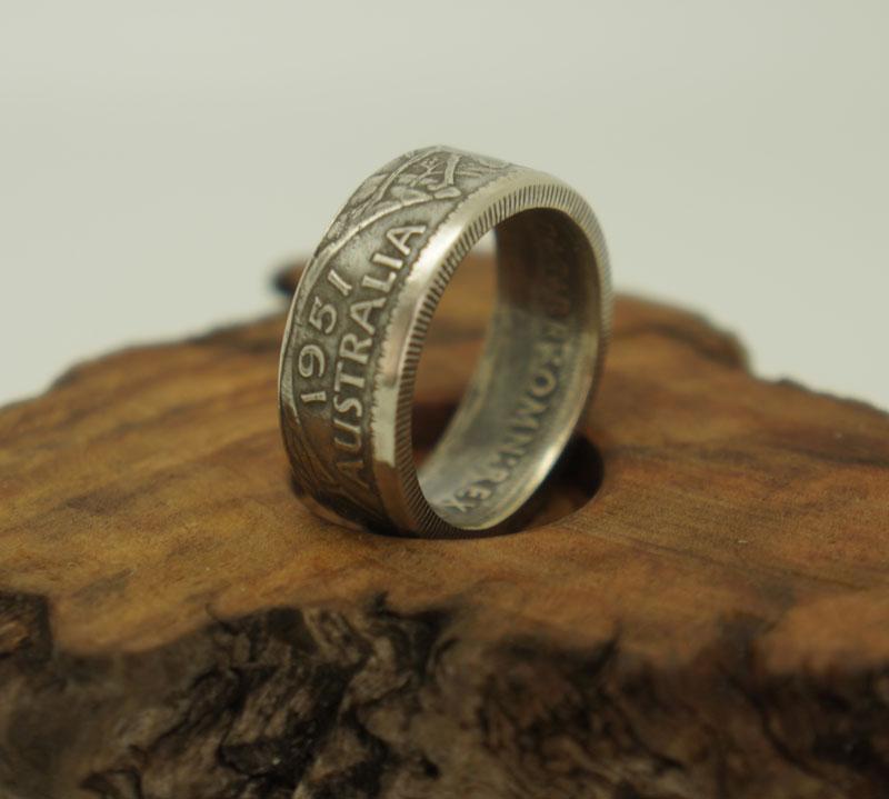 Australian  Coin Rings